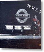 Canada Water Music Metal Print