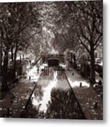 Canal Saint Martin 2 Metal Print
