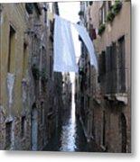 Canal. Venice Metal Print