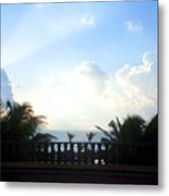Cancun Sunrise Metal Print