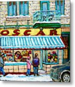 Candy Shop Metal Print