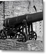 Cannon At Macroom Castle Ireland Metal Print