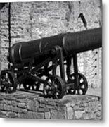 Cannon At Macroom Castle Ireland Metal Print