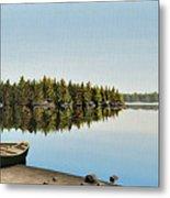 Canoe The Massassauga Metal Print