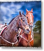 Can't Wait To Get That Tack Off Metal Print