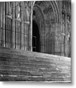 Canterbury Cathedral Choir Entrance Canterbury England Metal Print