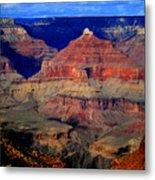 Canyon Layers Metal Print