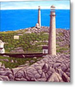 Cape Ann Twin Towers Metal Print