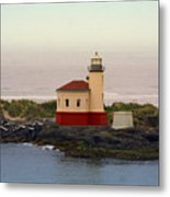Cape Blanco Lighthouse Li 8000 Metal Print
