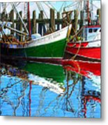 Cape Cod Paintings  Metal Print