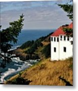 Cape Foulweather Point Metal Print