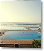 Cape Town Pool Metal Print