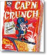 Capn Crunch Metal Print