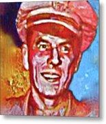 Captain Ronald Reagan Metal Print