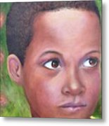 Caribe Child Metal Print