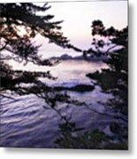 Carmel Highlands Sunset 1 Metal Print
