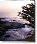 Carmel Highlands Sunset 2 Metal Print