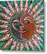 Carnavale Sunset Metal Print