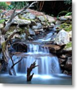Carolina Mountain Stream Metal Print