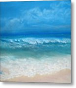 Carribean Blue Metal Print