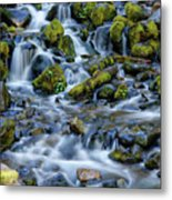 Cascade Of Many Waters Metal Print