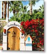 Casitas Laquita Palm Springs Metal Print