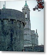 Castle And Church Athlone Ireland Metal Print