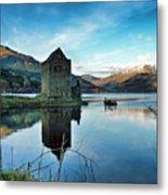 Castle On The Loch Metal Print