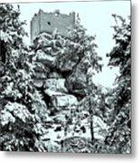 Castle Ruin Flossenbuerg Metal Print