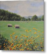 Castleton Metal Print by Cynthia Satton
