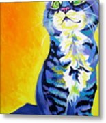 Cat - Here Kitty Kitty Metal Print