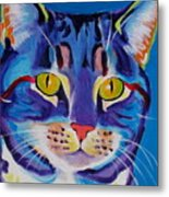 Cat - Lady Spirit Metal Print by Alicia VanNoy Call