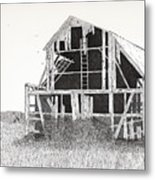 Catawba Barn Metal Print by Pat Price