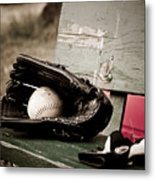 Catcher Metal Print by Valerie Morrison