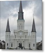 Cathedral Church Metal Print