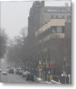 Cathedral Hill On A Foggy Day Metal Print