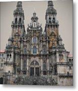 Cathedral Of Santiago De Compostela Metal Print