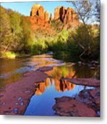 Cathedral Rock Sedona Metal Print by Matt Suess