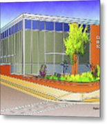Catonsville Middle School Metal Print