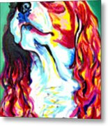 Cavalier - Herald Metal Print by Alicia VanNoy Call
