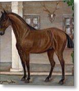 Cavalry Horse Metal Print by Anna Folkartanna Maciejewska-Dyba