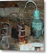 Caverness Moonshining Metal Print