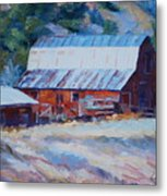 Cedar Hill Barn Metal Print