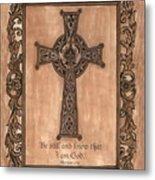 Celtic Cross Metal Print by Debbie DeWitt