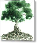 Celtic Tree Of Life Metal Print by Sean Seal