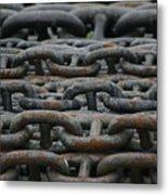 Chains Metal Print