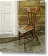 Chair And The Door Metal Print