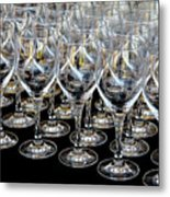 Champagne Army Metal Print
