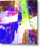 Changing Color Metal Print by Fania Simon