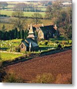 Chapel In The Valley Metal Print